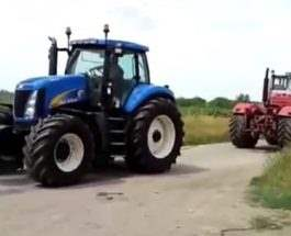 тракторная битва