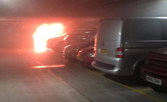 Ливерпуль пожар