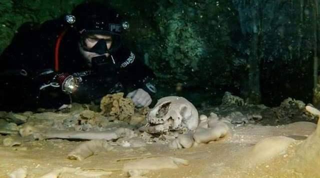 Майя пещеры