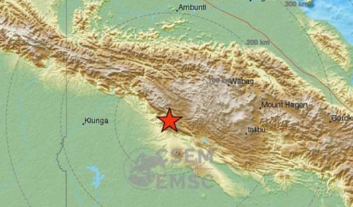 Папуа-Новая Гвинея,землетрясение