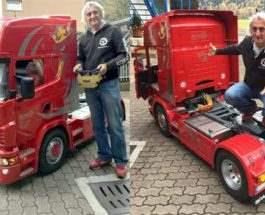 Радиоуправляемая Scania