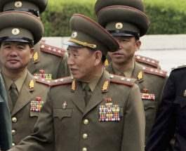 Северокорейская делегация