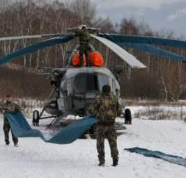 вертолетчики стрельба