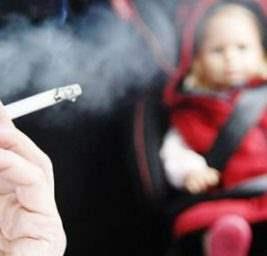курение за рулем