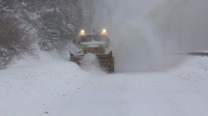 снег Сербия