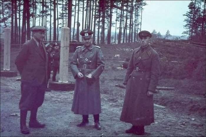 Пост на немецко-советской границе