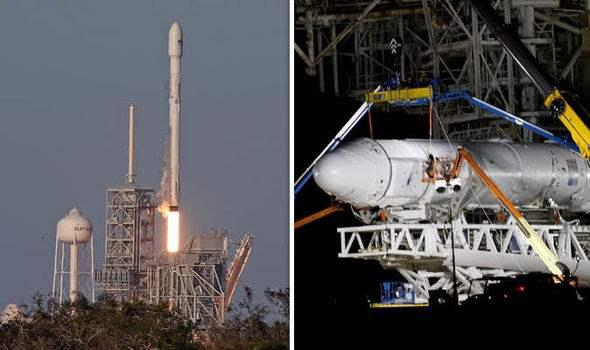 Сегодня ракета SpaceX Илона Маска выведет наорбиту спутники для раздачи интернета