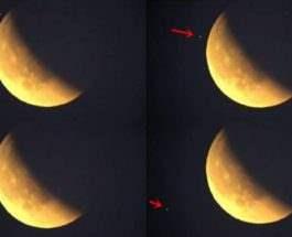UFO blood moon
