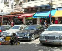 Албания старые авто