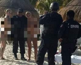 Полиция и девушки