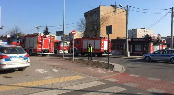 Польша Познань рухнул дом