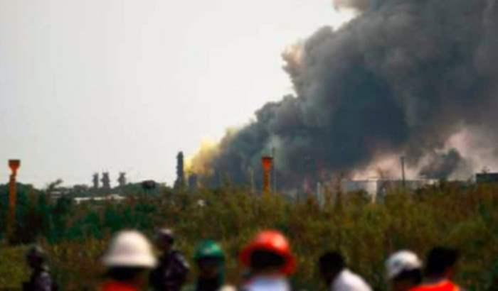 Чехия завод взрыв