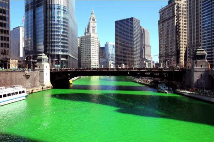 Чикаго река