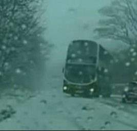 автобус дрифт