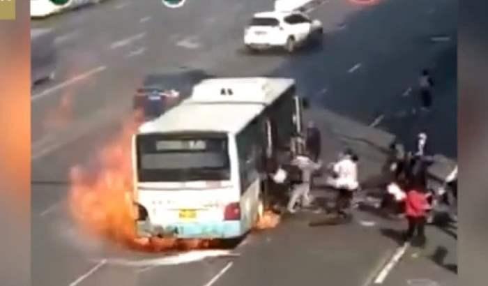 автобус китай