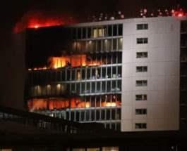 дублин пожар