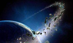 Космический мусор – проблема для спутников