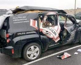 машина взрыв
