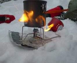 походная газовая горелка