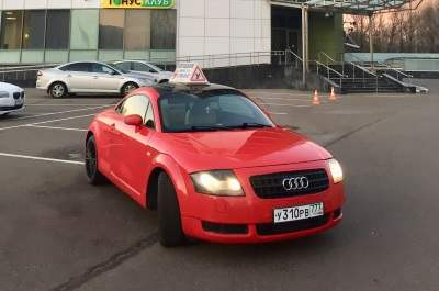 "Audi ТТ. Автошкола ""Автотема"""