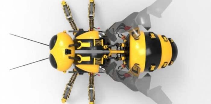 роботы пчелы