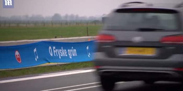 Голландская «музыкальная дорога»