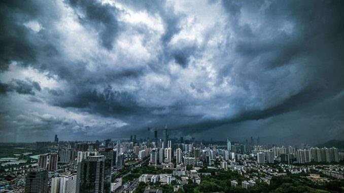 Китай управление погодой