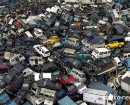 Кладбище автомобилей Китай