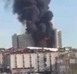 Пожар Стамбул