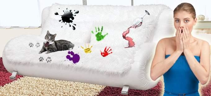 Преимущество химчистки мебели на дому