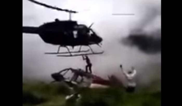 пилот вертолета
