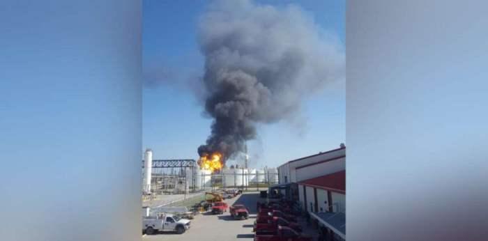 завод США взрыв