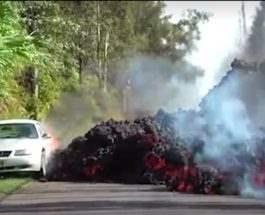 Гаваи извержение