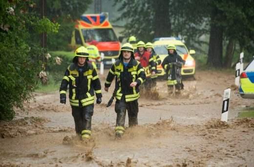 Германия потоп