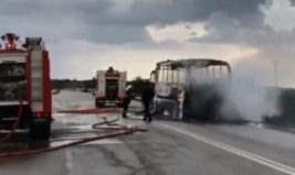 Греция автобус
