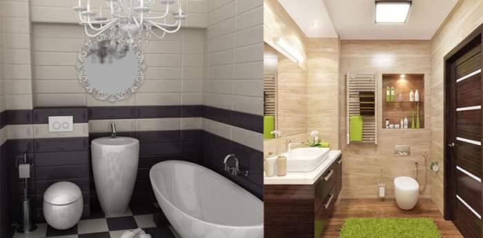Дизайн-маленькой-ванной