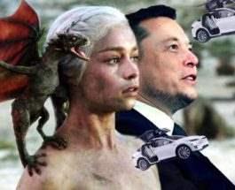 Илон Маск дракон