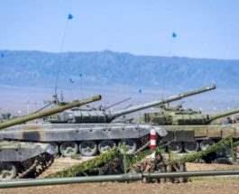 Казахстан провел военный парад