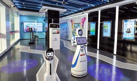 Китай роботы