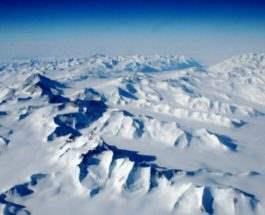 Огромные каньоны обнаружены под Антарктидой