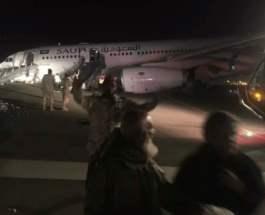 авария Saudi Airlines