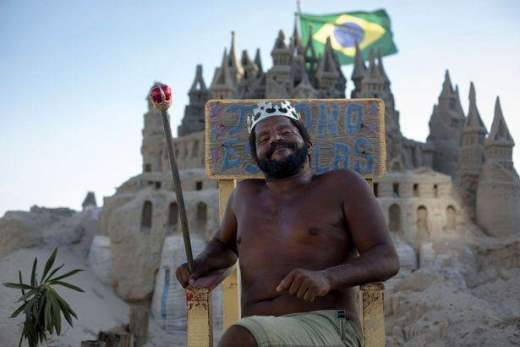 замок из песка Бразилия