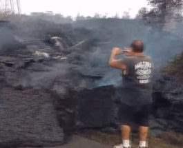 лава Гавайи
