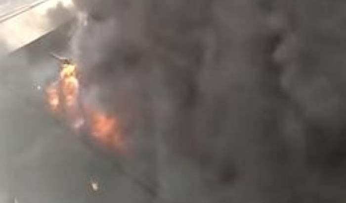 пожар Дубай