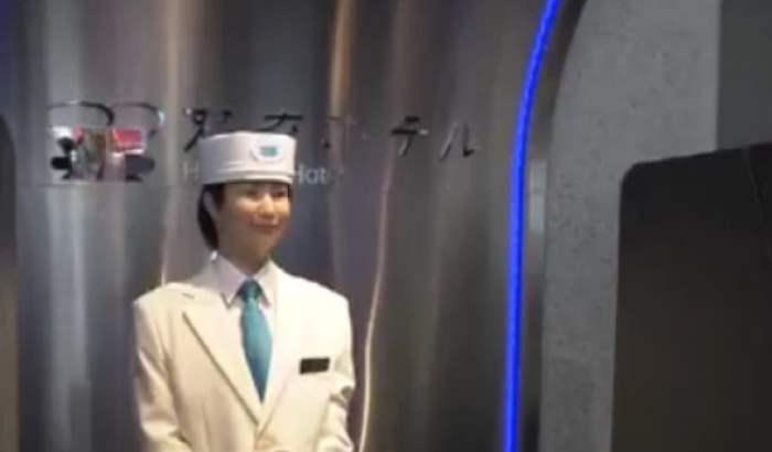 япония отель роботы