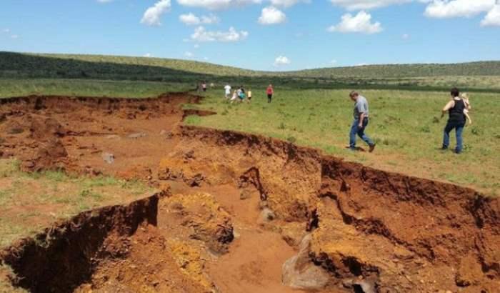 Африка тектонические плиты