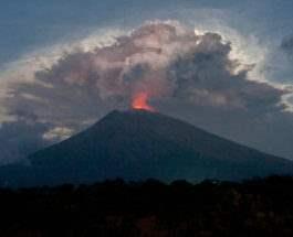 Бали вулкан