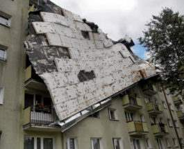 Польша ураган