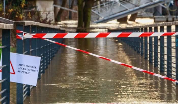 Франция наводнение