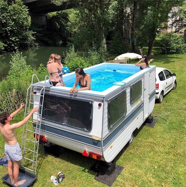 бассейн на колесах